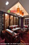 酒店餐厅中式吊灯、餐厅包间吊灯、中式布艺水晶吊灯、餐厅吊灯定制、中式酒楼工程灯、中式餐厅吊灯定制图片