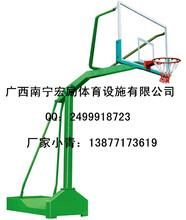 贵港篮球架厂家室外小箱带轮篮球架覃塘单位篮球架