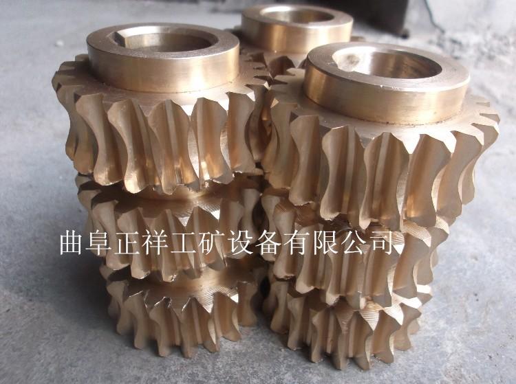 来图加工螺旋焊管机铜蜗轮