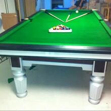 臺球桌標準中式黑8臺球桌出售廊坊臺球案子用品圖片