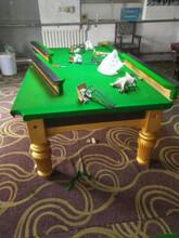 台球桌调水平修理各台球桌上门拆装移位台球图片
