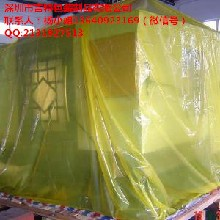 大型机械防水、防雨外包装袋纸箱内衬袋PE四方袋图片