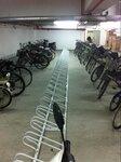 停放方便的自行车停车架,自行车停放架