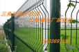 山西护栏网厂家供应太原三角折弯防护网-市政安全围栏网