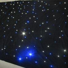 阻燃星光幕LED星空背景幕星空幕厂家