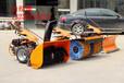 小型除雪机省事吗S适合用小型除雪机㏇市政路面扫雪车