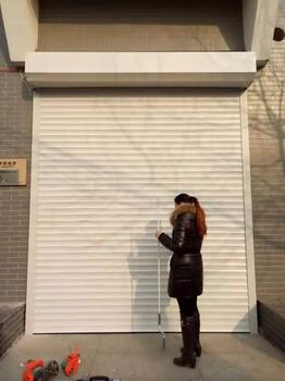 供应西青区各种型材电动卷帘门定制安装专业卷帘门批发厂家天津通发门业