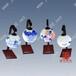 景德镇陶瓷照明灯具手绘青花瓷牡丹富贵陶瓷台灯吊灯礼品台灯