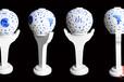 装饰陶瓷灯酒店装饰陶瓷吸顶灯9头吸顶灯陶瓷灯厂家