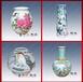 大师手绘高档陶瓷花瓶现代时尚家居装饰品