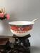 百歲華誕陶瓷壽碗禮品定做壽碗燒字