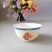江蘇無錫定做老人生日碗4.5寸高腳骨瓷壽碗定制