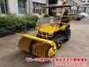 黑龙江黑河市独家研制成功全地形扫雪机,任何地形都能用