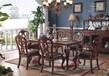 玛吉卡森G01-5062实木餐桌家用别墅餐桌餐厅饭桌家具