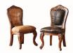 玛吉卡森美式实木休闲家具儿童咖啡单人椅全实木