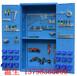 广州冷轧钢置物柜,工业物品置物柜,双开门挂板置物柜