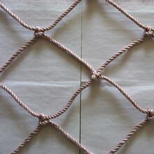 力夫特锦纶安全网,阻燃安全网,防坠落尼龙绳网图片