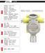 柴油气体报警器-柴油浓度气体报警器-柴油报警器-燃气报警器