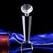 西安水晶獎杯紀念品定制公司慶典黨的節日水晶獎杯制作