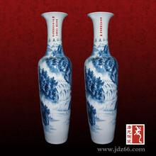 装饰花瓶陶瓷花瓶摆放在客厅景德镇花瓶图片