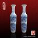瓷器大花瓶公司开业礼品大花瓶定制