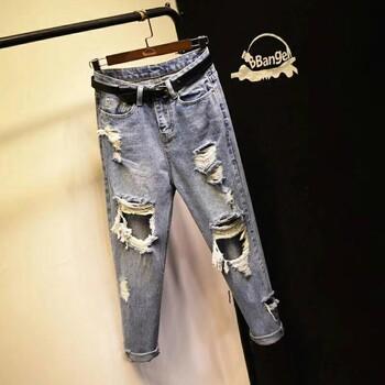 广州尾货牛仔裤批发市场大量牛仔裤工厂库存牛仔裤尾货5元批发