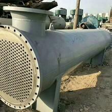 库存100台钛材列管冷凝器10平方--1000平方316L食品级化工冷凝器