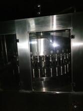 出售二手豪陽每分鐘400罐核桃露灌裝機優質韋弛易拉罐八寶粥灌裝機生產線圖片