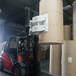 湖南株洲叉车圆纸夹包装印刷厂纸卷搬运叉车抱夹纸卷搬运抱车