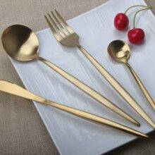 304不銹鋼叉勺西餐具牛排刀叉酒店餐具促銷禮品