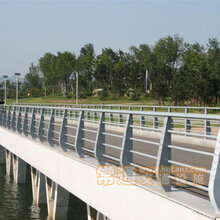 河畔灯光桥梁护栏河道桥梁五金金属护栏河边桥梁安全护栏