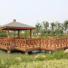 河南鄭州市防腐木施工團隊圖片