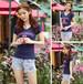 爆款夏季女装短袖t恤外贸韩版女装印花短袖t恤批发地摊货源