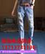 云南昭通哪里有几元的韩版牛仔裤批发破洞时尚韩版牛仔裤厂家低价批发