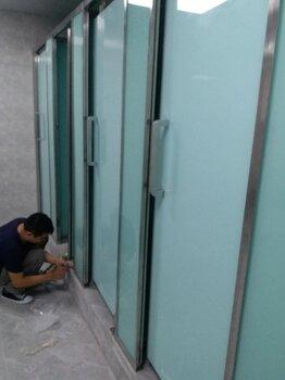 漳州酒店商场卫生间玻璃隔断工厂