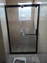 广州一体式简易淋浴房简约风格一字型简易淋浴房安装方法