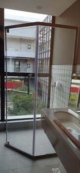 佛山整体简易淋浴房整套配置厂家一体式简易淋浴房批量安装