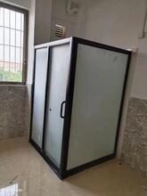 中山宾馆简易淋浴房整套配置厂家酒店独立式淋浴房价格咨询