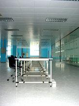 香花桥净化车间装修青浦食品厂装修净化板隔断图片