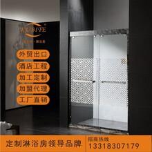 厂家直销不锈钢淋浴房、淋浴隔断、酒店工程淋浴房图片