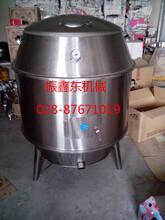 无烟木炭烤鸭炉、振鑫东24只烤鸭炉不用翻转、烤鱼炉机器设备美观漂亮图片