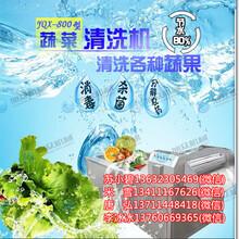广州蔬菜清洗机制造厂广州蔬菜清洗机设备蔬菜清洗流水线气泡清洗机图片