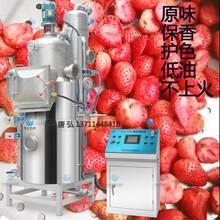 草莓真空低温油炸机多少钱一台?油炸草莓的机械设备工艺技术怎么样图片