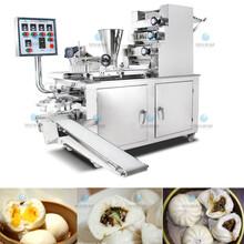 廣西全自動仿手工卷面式包子機,十二褶花紋包子機多少錢,發面包子機生產廠家圖片