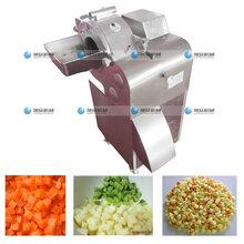 新疆瓜果蔬菜商用全自動切丁機,食堂用洋蔥切丁機械設備多少錢一臺圖片