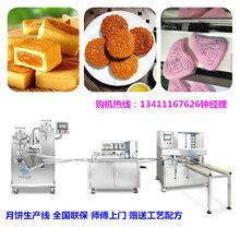 浙江徽式小型月饼生产线多少钱,广式全自动月饼机厂家直销图片