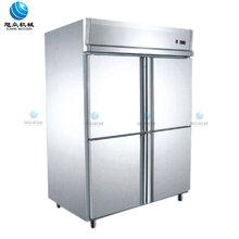 梧州大型商用厨房冷柜工厂食堂用六门单温商用冷柜报价图片