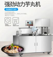 唐山新款全自动芋圆机紫薯地瓜圆芋圆机多少钱一台图片