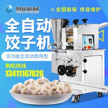 河南新款番茄炒蛋仿手工饺子机菠菜汁压面水饺机器多少钱图片