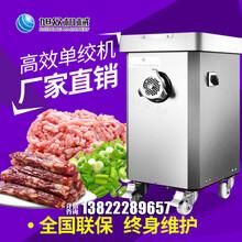福建新款全自动商用绞肉机立式碎肉切肉末电动绞肉机价格图片